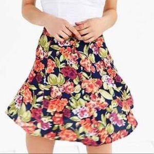 Urban Outfitters Button Up Floral Mini Skirt 4